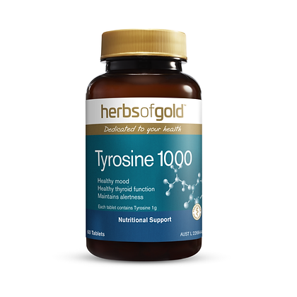 Herbs of Gold - Tyrosine 1000 60T