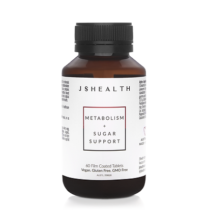 JS Health - Metabolism + Sugar Support Formula (60 T)