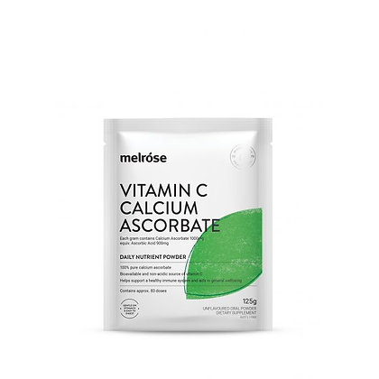 Melrose -  Vitamin C Calcium Ascorbate 125g