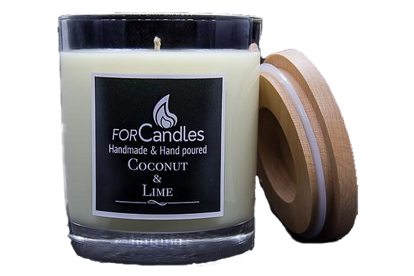 For Candles - Coconut & Lime Soy Candle