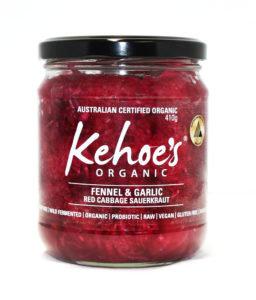 Kehoe's Kitchen - Fennel & Garlic Red Cabbage Sauerkraut