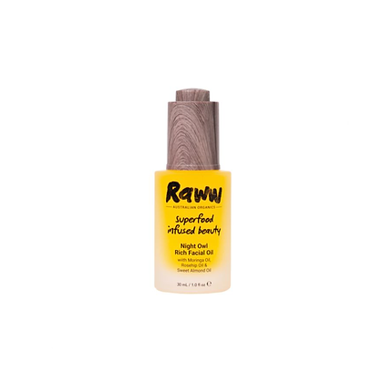 Raww - Night Owl Rich Facial Oil