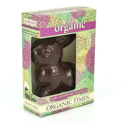 Organic Times - Organic Dark Chocolate Easter Bunny