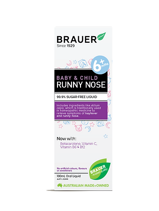 Brauer - Baby & Child Runny Nose 100ml