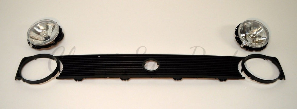 VW GOLF 1 GRILL AND LIGHT SET