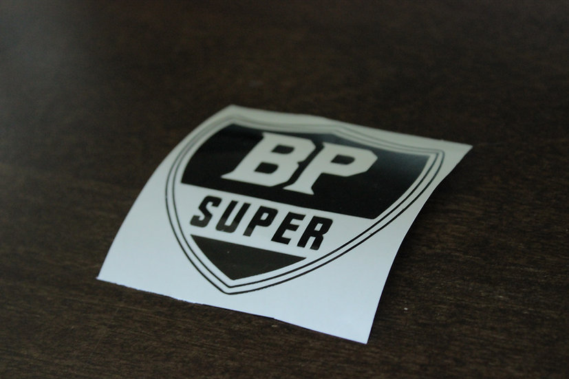 BP SUPER LOGO STICKER