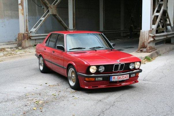 BMW E28 PFEBA FRONT SPOILER