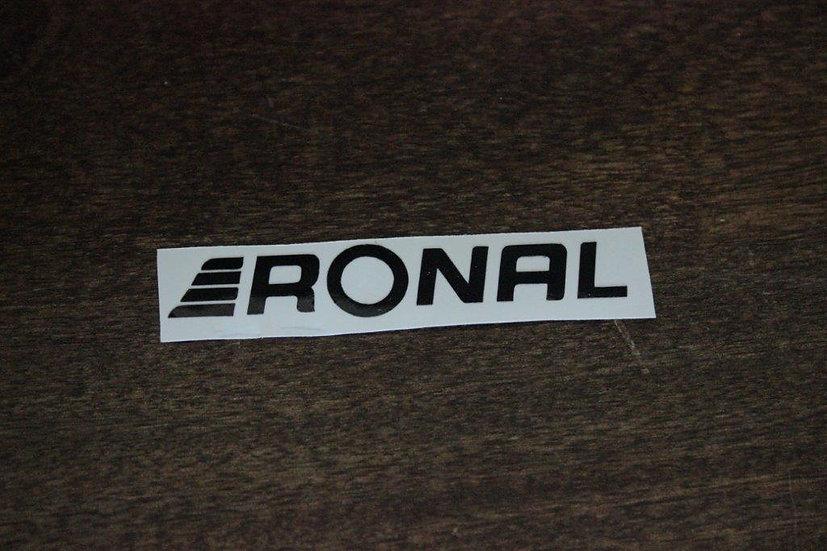 RONAL CLASSIC LOGO