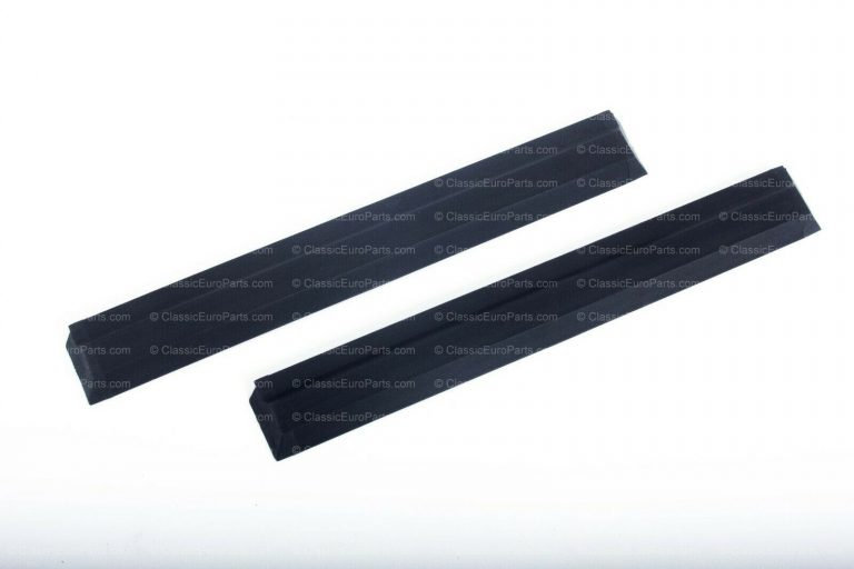 BMW E12 Euro front bumper trim set