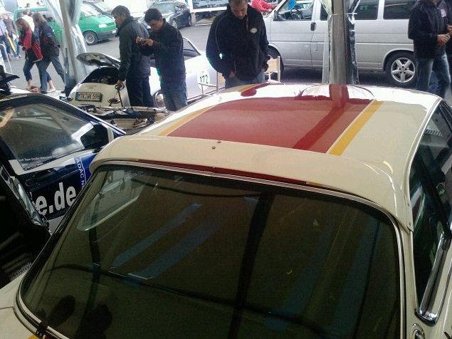BMW E9 GROUP REAR WINDOW SPOILER