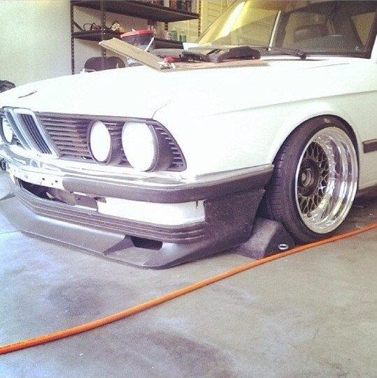BMW E28 VESTATEC FRONT SPOILER