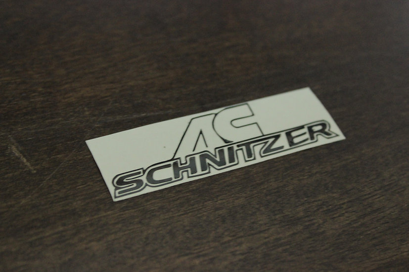 AC SCHNITZER CLASSIC LOGO STICKER