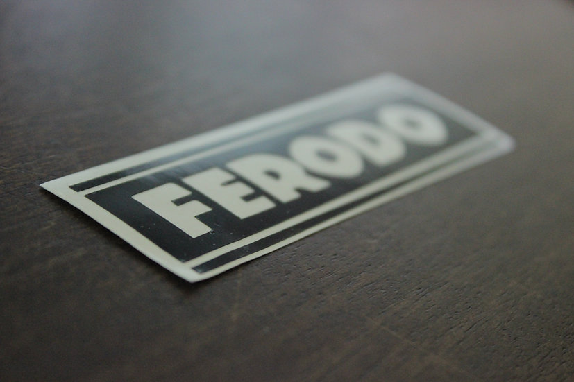 FEREDO BRAKES CLASSIC LOGO STICKER