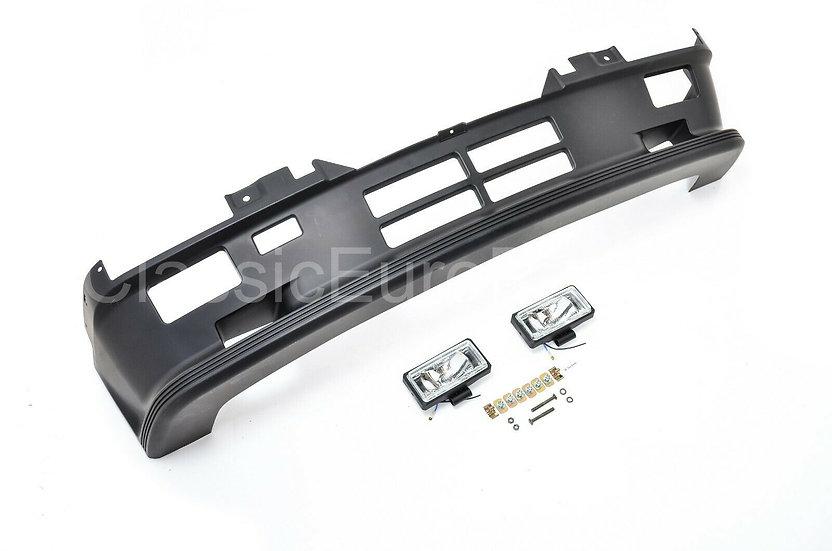 BMW E30 MTECH 1 PLASTIC FRONT BUMPER + FOGLIGHTS