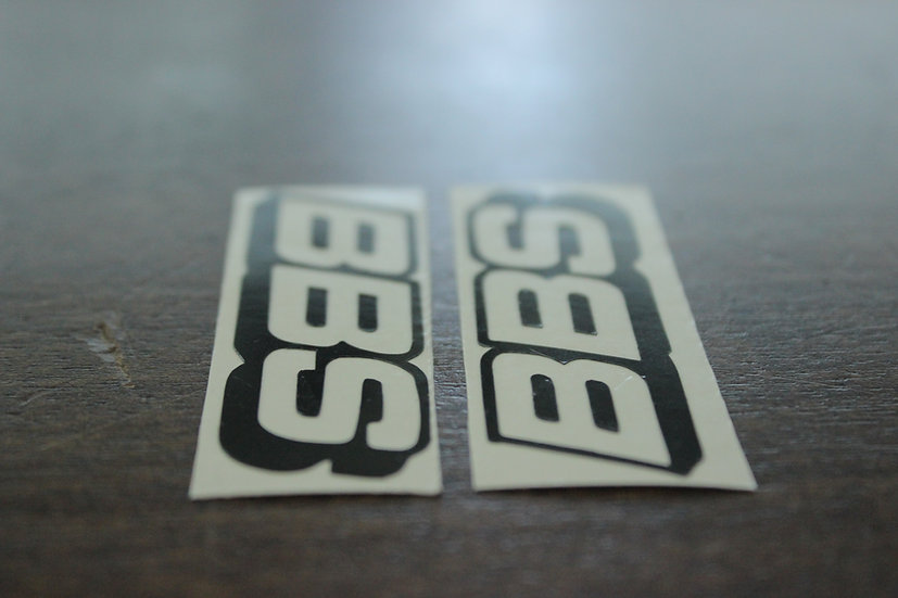 BBS SIMPLE CLASSIC LOGO STICKERS