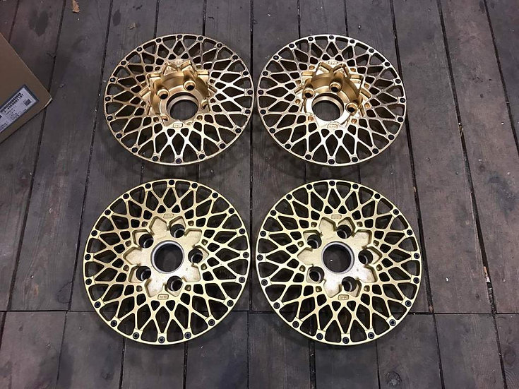 BMW 5X120 BBS E50 CENTERS REFINISHED