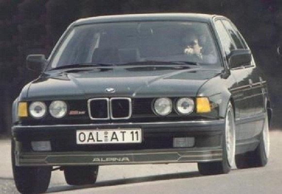 BMW E32 ALPINA FRONT SPOILER REPLICA