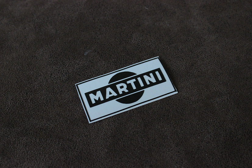 MARTINI RACING LOGO STICKER