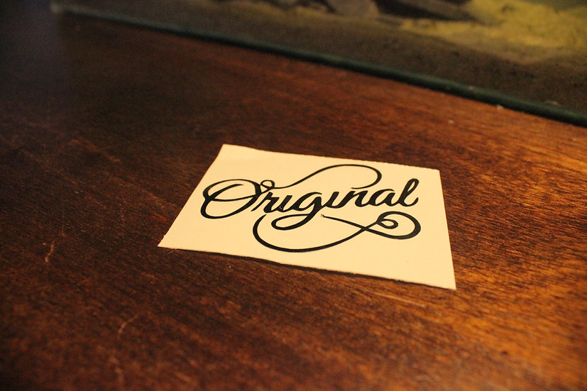 ORIGINAL STICKER