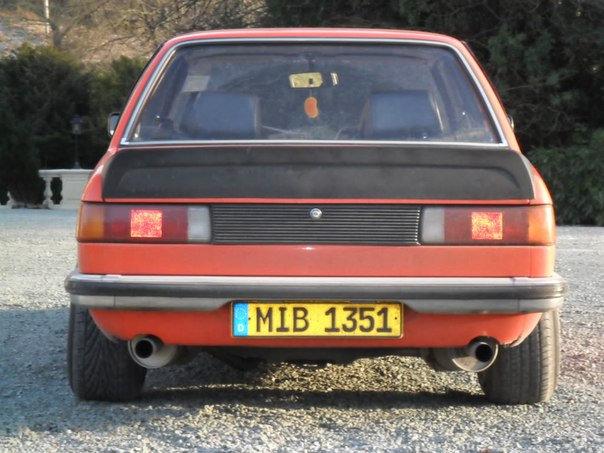 BMW E21 SPORTS REAR SPOILER REPLICA