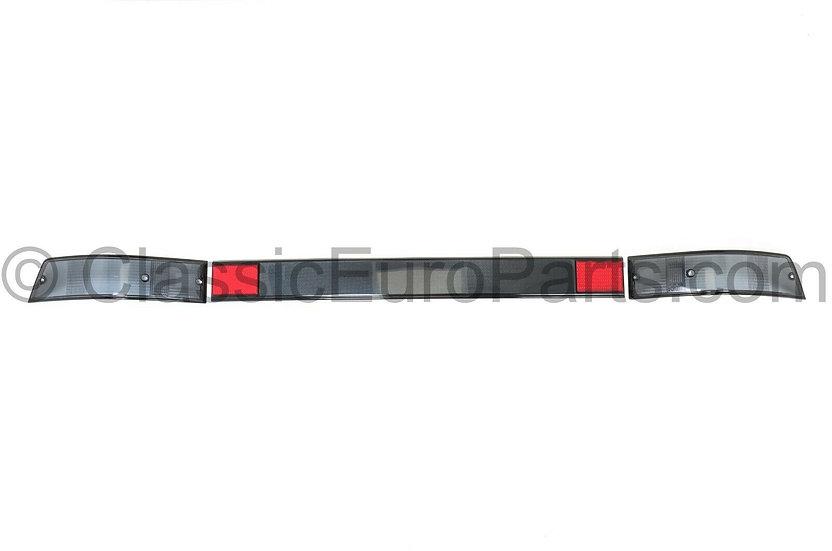 PORSCHE 911 / 930 SMOKED REAR LIGHTS + SMOKED HECKBLENDE SET
