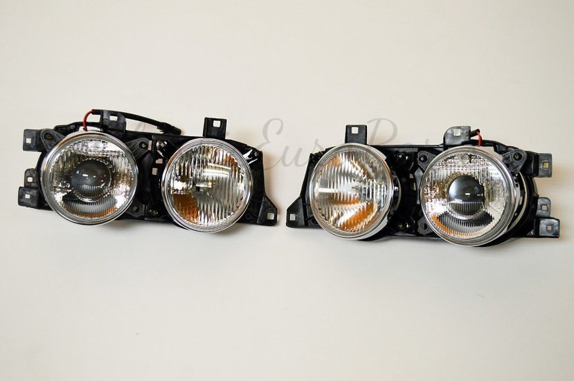 BMW E32/E34 FRONT SMILEY HEADLIGHTS