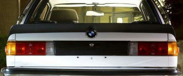 BMW E21 ZENDER REAR SPOILER REPLICA