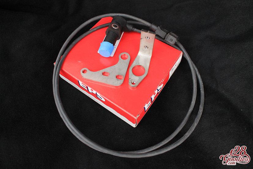 Crankshaft RPM sensor bracket + sensor set for M30 engines