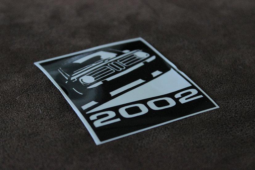 BMW E10 VINYL STICKER