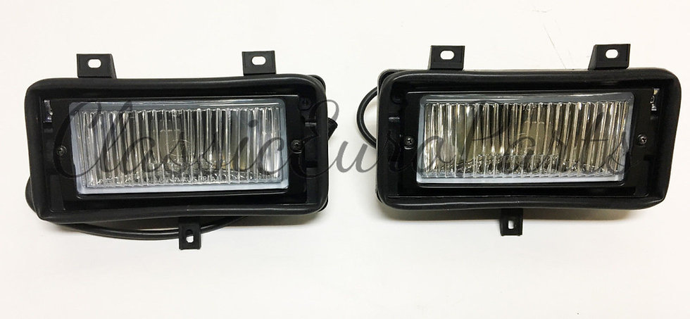 BMW E30 EARLY FOG LIGHT SETS