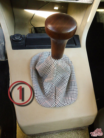 E28 GEAR STICK COVER