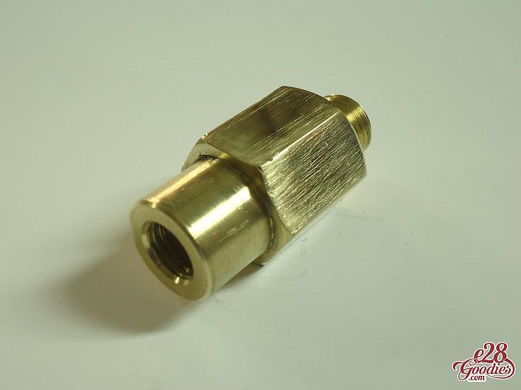 M52 to M20 instrument cluster coolant temp sensor adapter