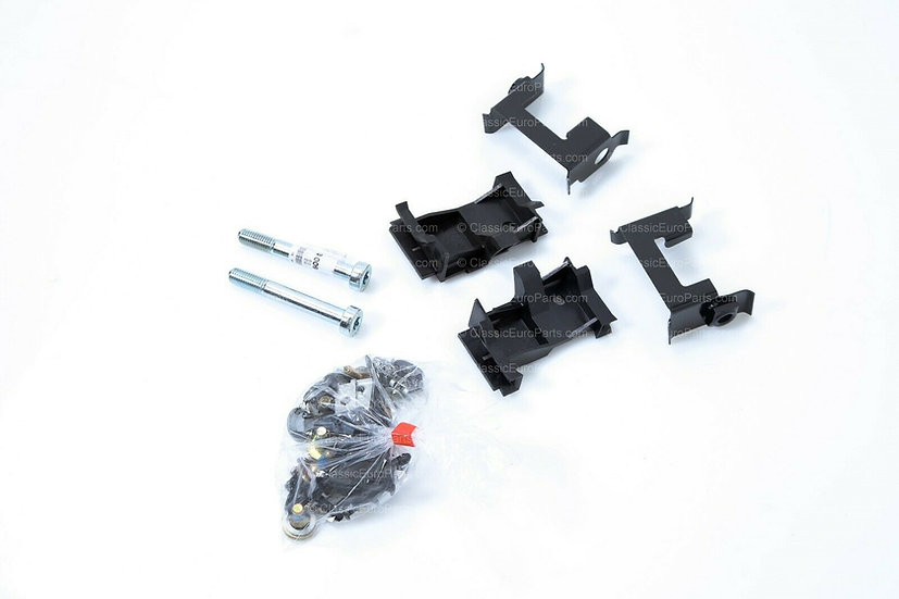 BMW E30 LATE FRONT BUMPER MOUNTING BRACKETS