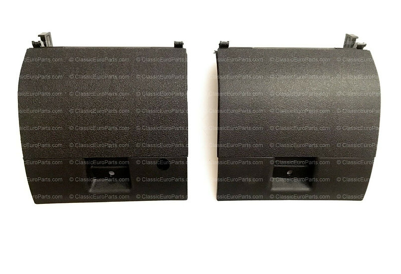 BMW E28 FRONT VALANCE TOW HOOK COVER SET