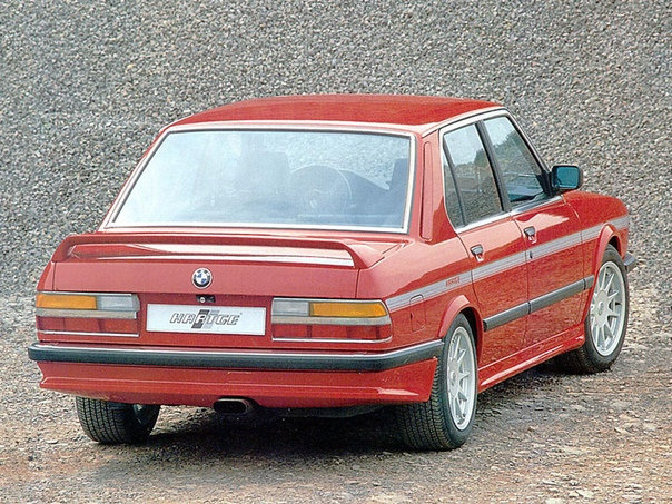 BMW E28 HARTGE REAR SPOILER REPLICA