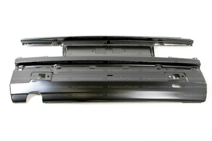 BMW E30 REAR METAL PANEL FOR 4 CYL