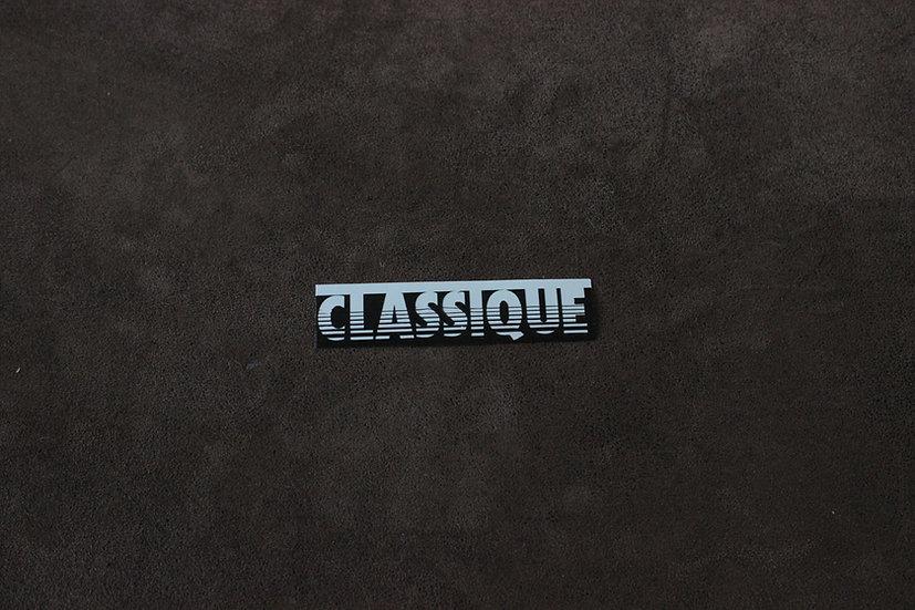 SMALL CLASSIQUE 80'S RETRO VINYL STICKER CLASSIC MOTORSPORT BMW VW PORSCHE RARE