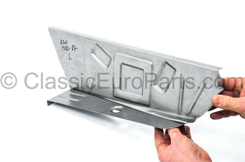 BMW E30 EARLY REAR LEFT BOOT FLOOR REPAIR PANEL 41121911133