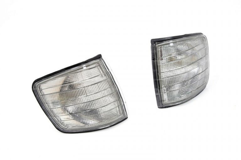 MERCEDES W126 COUPE SMOKED INDICATOR LENS SET