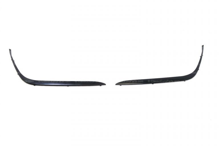 BMW E38 FRONT BUMPER SHADOWLINE TRIM SET WITHOUT WASHERS