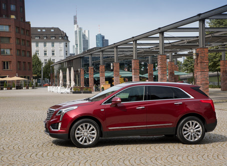 """Cadillac XT5 – Luxus Crossover """"Made in USA"""""""