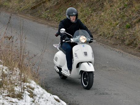 Sicher mit dem Scooter durch den Winter