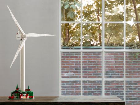 Windkraftanlage im Miniformat