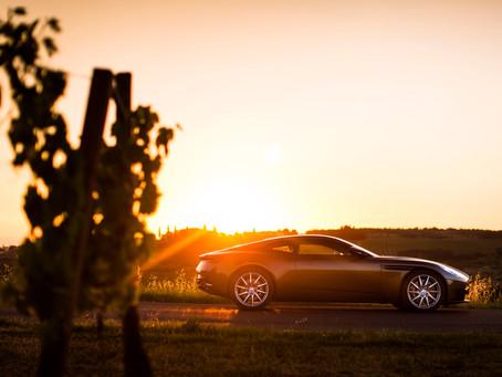 Aston Martin DB11 – auf dem Laufsteg