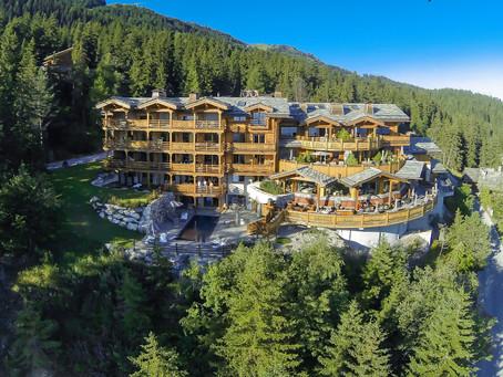 Le Crans Hotel & SPA – thront über Crans-Montana / VS