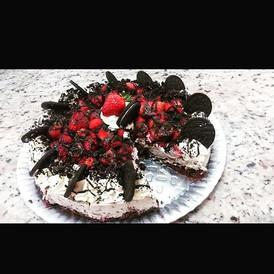 Torta de bolacha Oreo