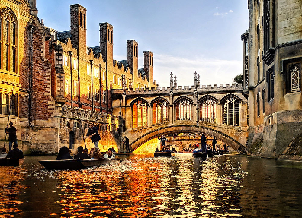 The Bridge of Sighs, St. Johns College