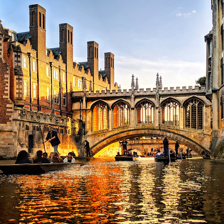 Day Trip From London: An Autumn Walk Through Cambridge