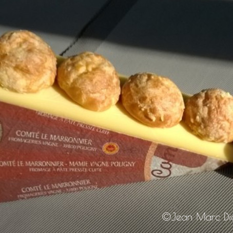French Cooking: Comté Cheese Puffs (Gougères)