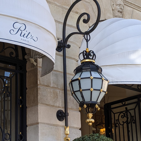 Where To Eat And Drink At The Ritz Hotel, Paris